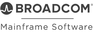 Mainframe Software | A division of Broadcom Inc | Gray Logo